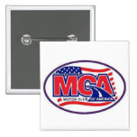 CLUB AMÉRICA - MCA 40for80.com del MOTOR Pin Cuadrada 5 Cm