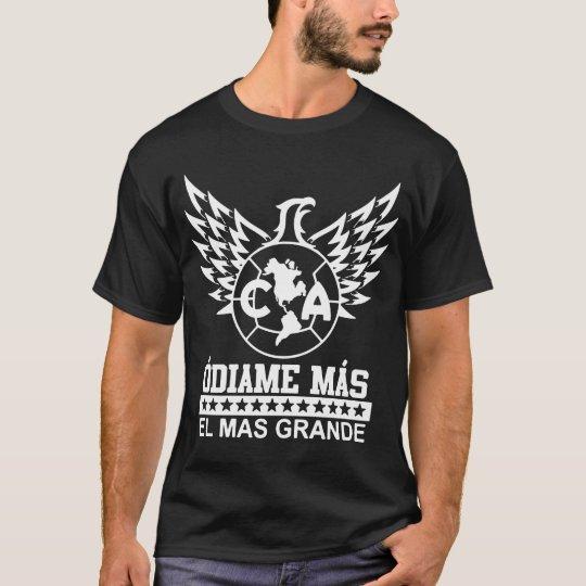 935ae8884e0 Club America Mexico Aguilas Camiseta Jersey Odiame T-Shirt | Zazzle.com