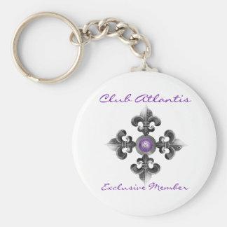 Club Atlantis Exclusive Member Keychain