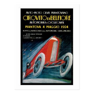 Club auto Montovano de Cirquito y de Delefiore Postal
