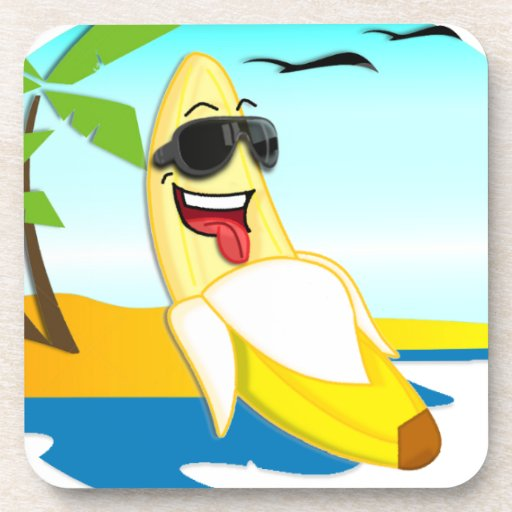 Club Bananas - Official Merchandise Coasters
