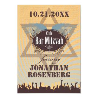 Club Bar Mitzvah Card