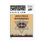 Club Bar Mitzvah Stamp, Small