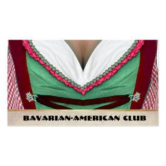 Club Bávaro-Americano Tarjetas De Visita