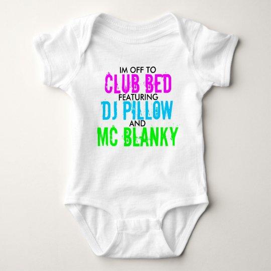 Club Bed Baby Bodysuit