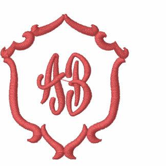 Club bordado monograma del nombre comercial de la polo t-shirt
