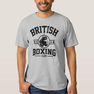 Club británico del boxeo camisas