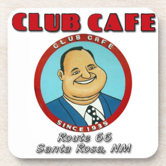 Club Cafe Fat Man Cork Coaster Set