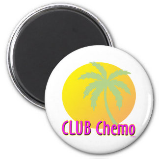 Club Chemo Refrigerator Magnets