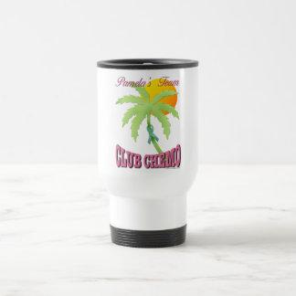 Club Chemo - Teal Coffee Mug