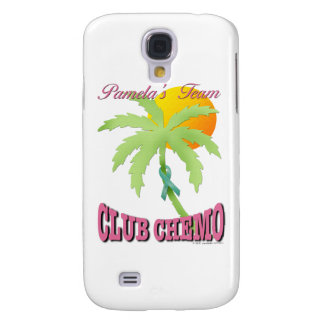 Club Chemo - Teal Galaxy S4 Cases