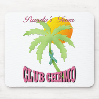 Club Chemo - Teal Mouse Pad