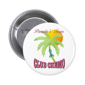 Club Chemo - Teal Pins