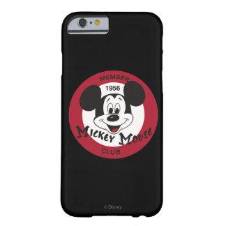 Club clásico de Mickey el   Mickey Mouse Funda Para iPhone 6 Barely There