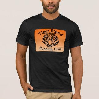 Club corriente de la sangre del tigre playera