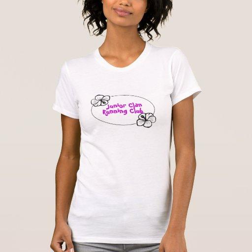 Club corriente del clan menor: mitad de la camiseta