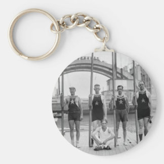 Club Crew, 1921 del barco de Potomac Llavero Redondo Tipo Pin