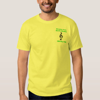 Club de 300 días, diseño amarillo camisas