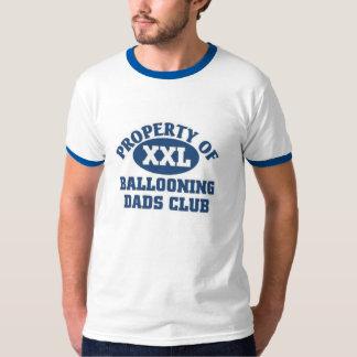 Club de aerostación de los papás playera