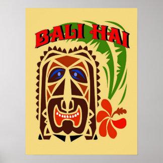 Club de Bali Hai Tiki Póster