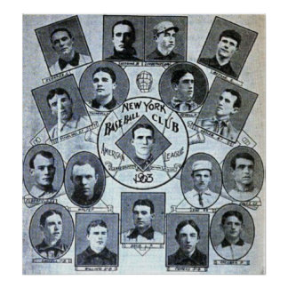 Club de béisbol de Nueva York 1903 Impresiones