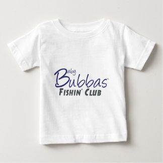 Club de Bubbas Fishin del bebé Playeras