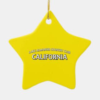 Club de campo California de Almanor del lago Ornamentos De Reyes
