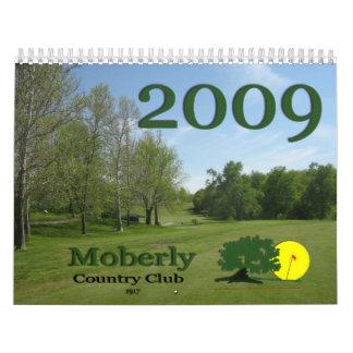 Club de campo de Moberly Calendarios