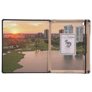 Club de campo en la puesta del sol, Aventura, la F iPad Protector