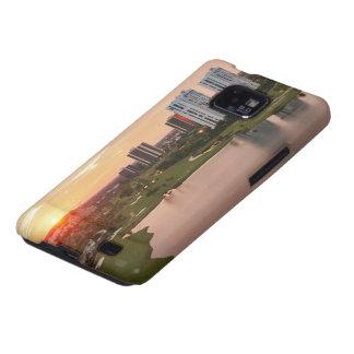 Club de campo en la puesta del sol, Aventura, la F Galaxy S2 Carcasa