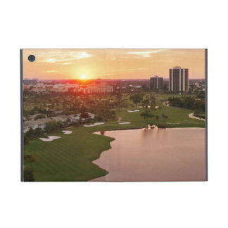 Club de campo en la puesta del sol, Aventura, la F iPad Mini Cobertura