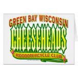 Club de Cheeseheads Mooootercycle Felicitaciones