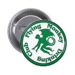 Club de consumición del mono del vuelo pins