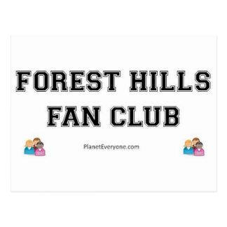 CLUB DE FANS DE FOREST HILLS POSTALES