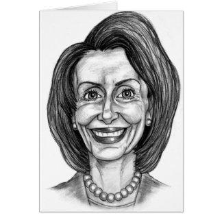 Club de fans de Nancy Pelosi Tarjeta De Felicitación