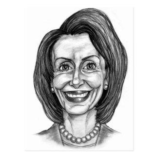 Club de fans de Nancy Pelosi Tarjeta Postal