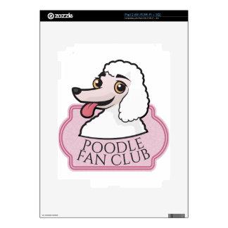 Club de fans del caniche skin para el iPad 2
