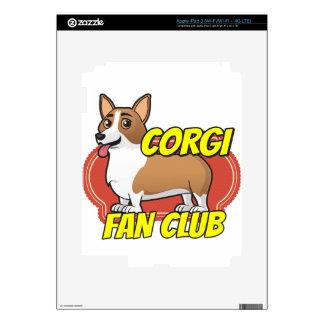 Club de fans del Corgi Pegatina Skin Para iPad 3