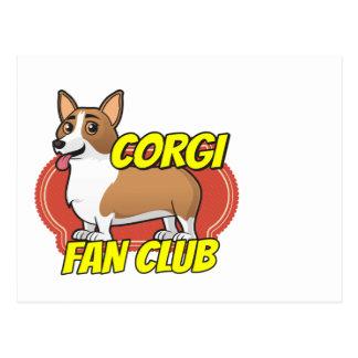Club de fans del Corgi Postales