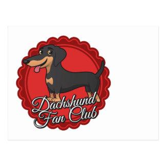 Club de fans del Dachshund Postales