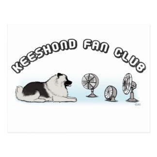 Club de fans del Keeshond Postal