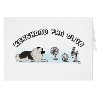 Club de fans del Keeshond Tarjeta Pequeña