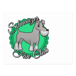 Club de fans del Schnauzer Postales