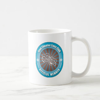 Club de fans fresco del teatro taza de café
