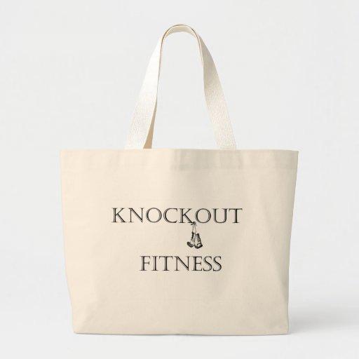 Club de fitness Knockout Bolsa Tela Grande