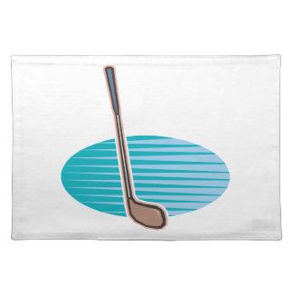 Club de golf mantel individual