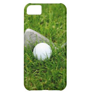 Club de golf y pelota de golf funda para iPhone 5C