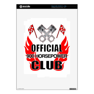 Club de HP del funcionario 900 Skins Para iPad 2
