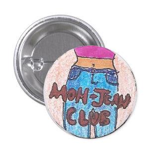 Club de Jean de la mamá Pin Redondo 2,5 Cm