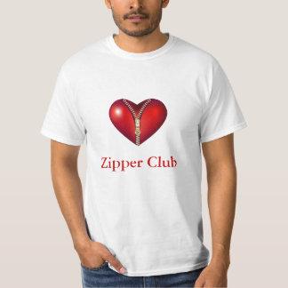 Club de la cremallera playeras